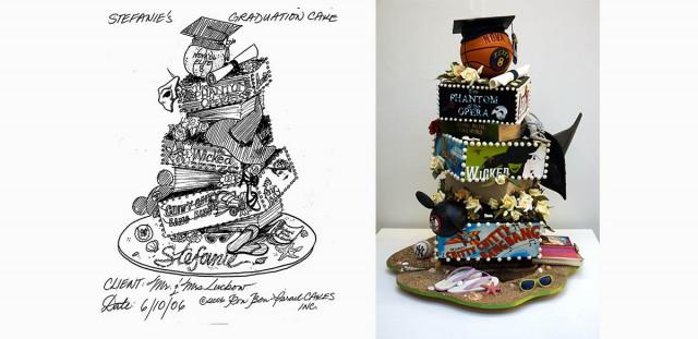 Ron BenIsrael Wedding Cakes Celebration Cakes Designer Cakes - Ben Israel Wedding Cakes